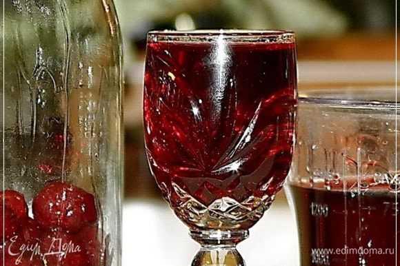 Настойка из вишни в домашних условиях: как сделать своими руками по рецепту