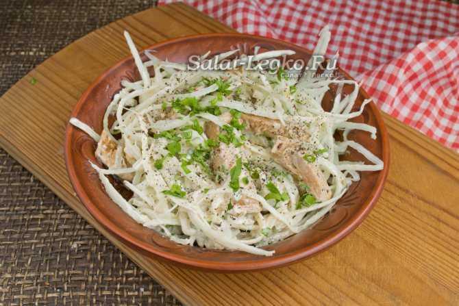 Как приготовить салат «ташкент» и закуски с мясом и редькой