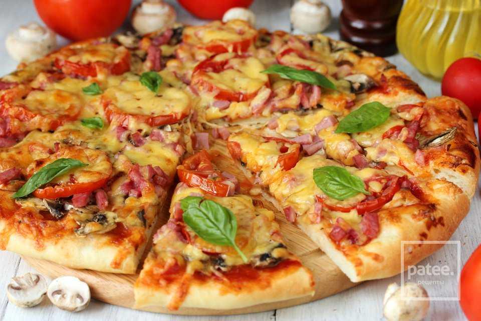 Лучшие рецепты пиццы с грибами