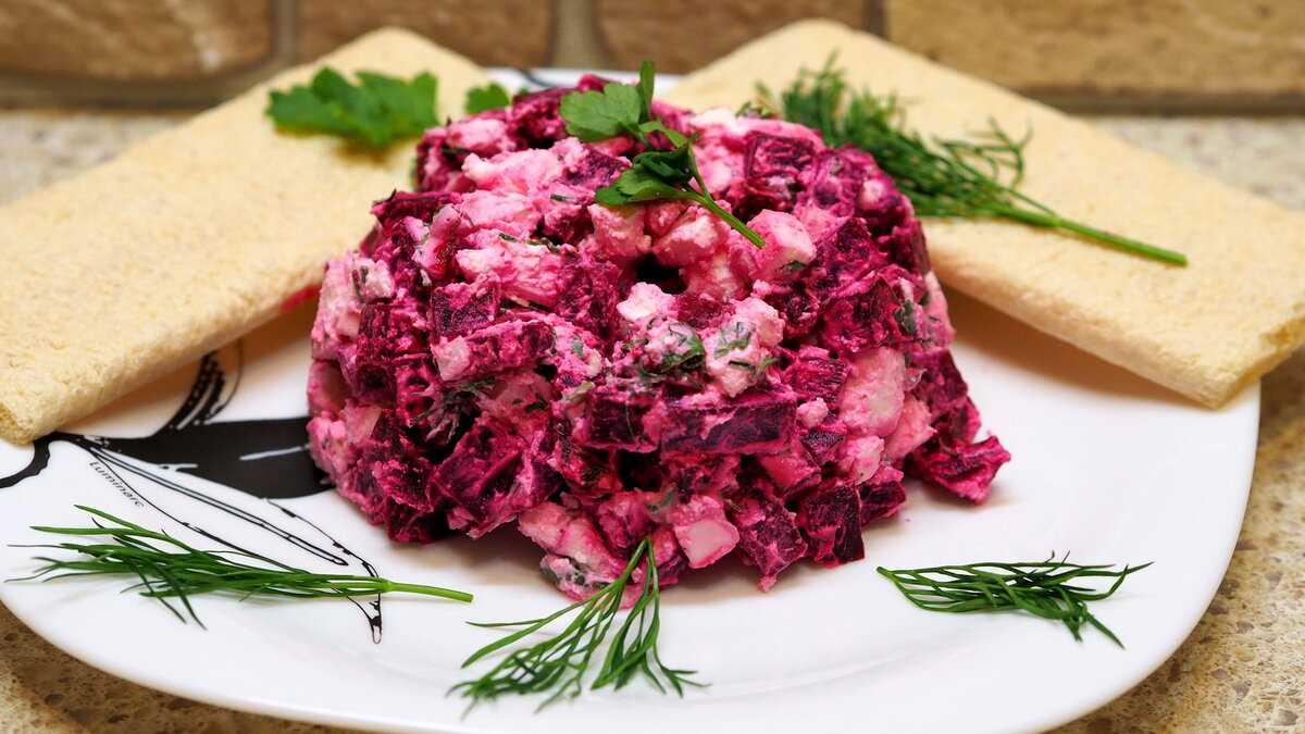 Овощные салаты - 20 быстрых и вкусных рецептов