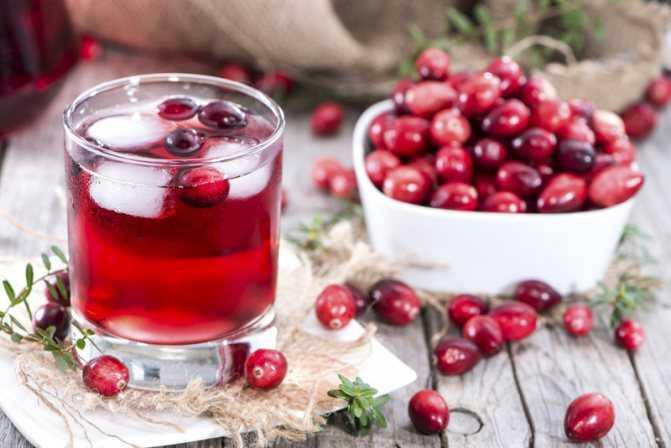Домашнее вино из клюквы