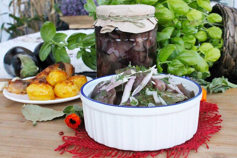 Баклажаны, как грибы - быстрые и вкусные рецепты с фото