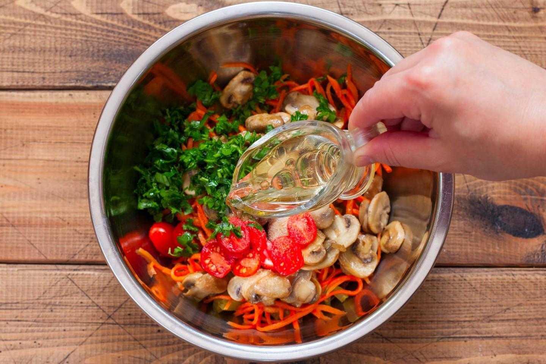 Салат с печенью и грибами - невероятно вкусно: рецепт с фото и видео
